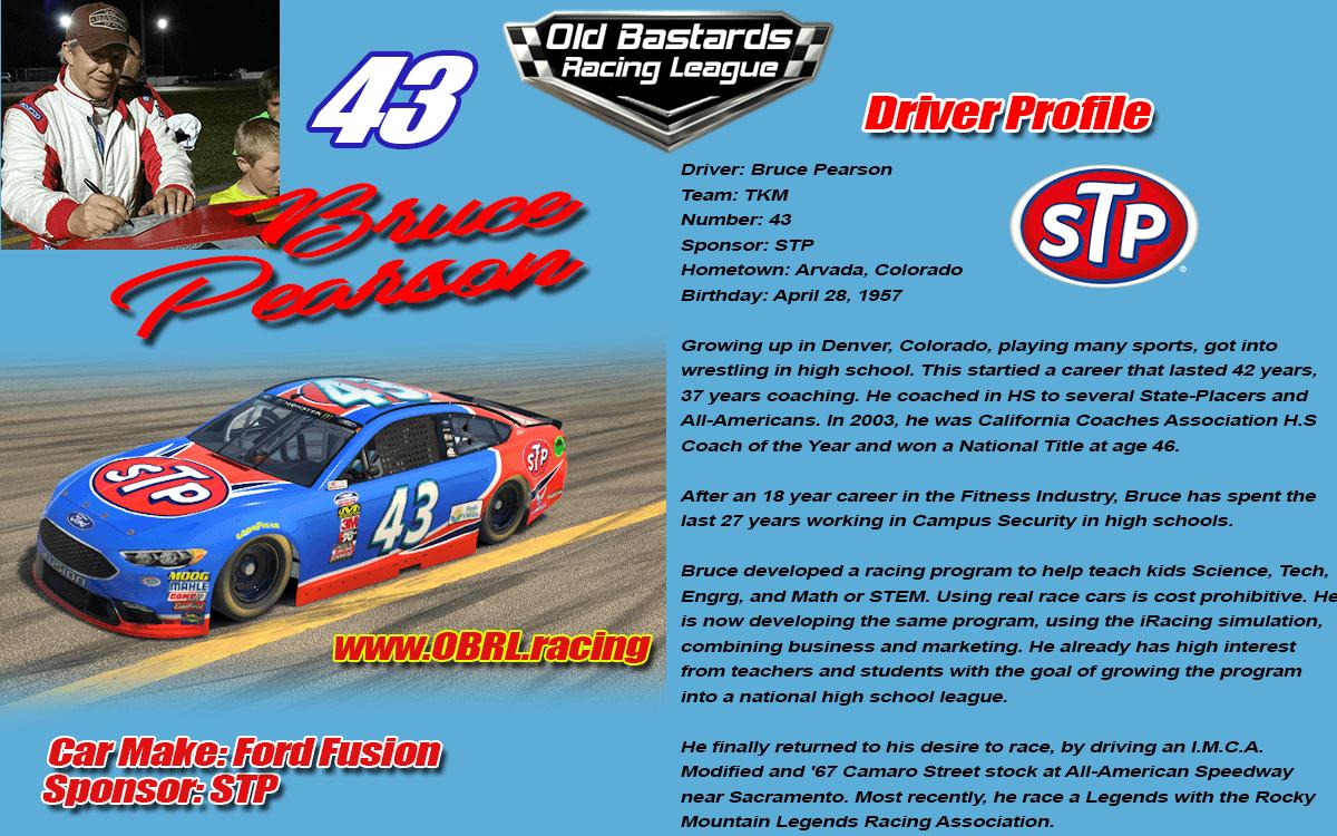iRacing Car Drivers Profiles - Old Bastards Racing League Profiles