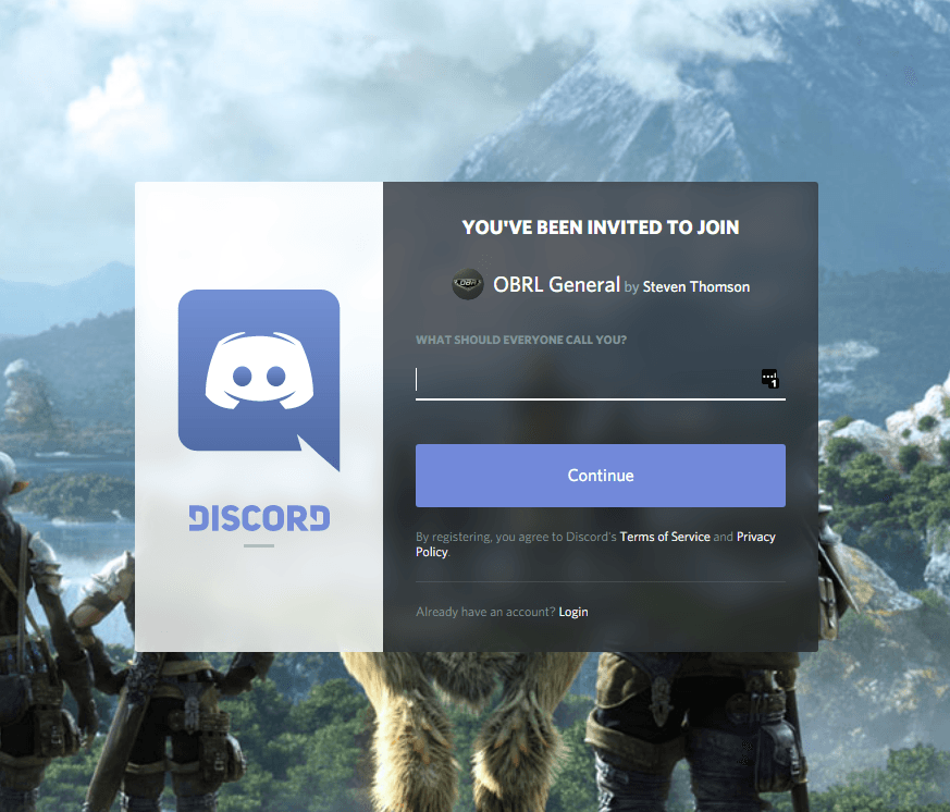 Discord Installation Instructions - Old Bastards Racing League