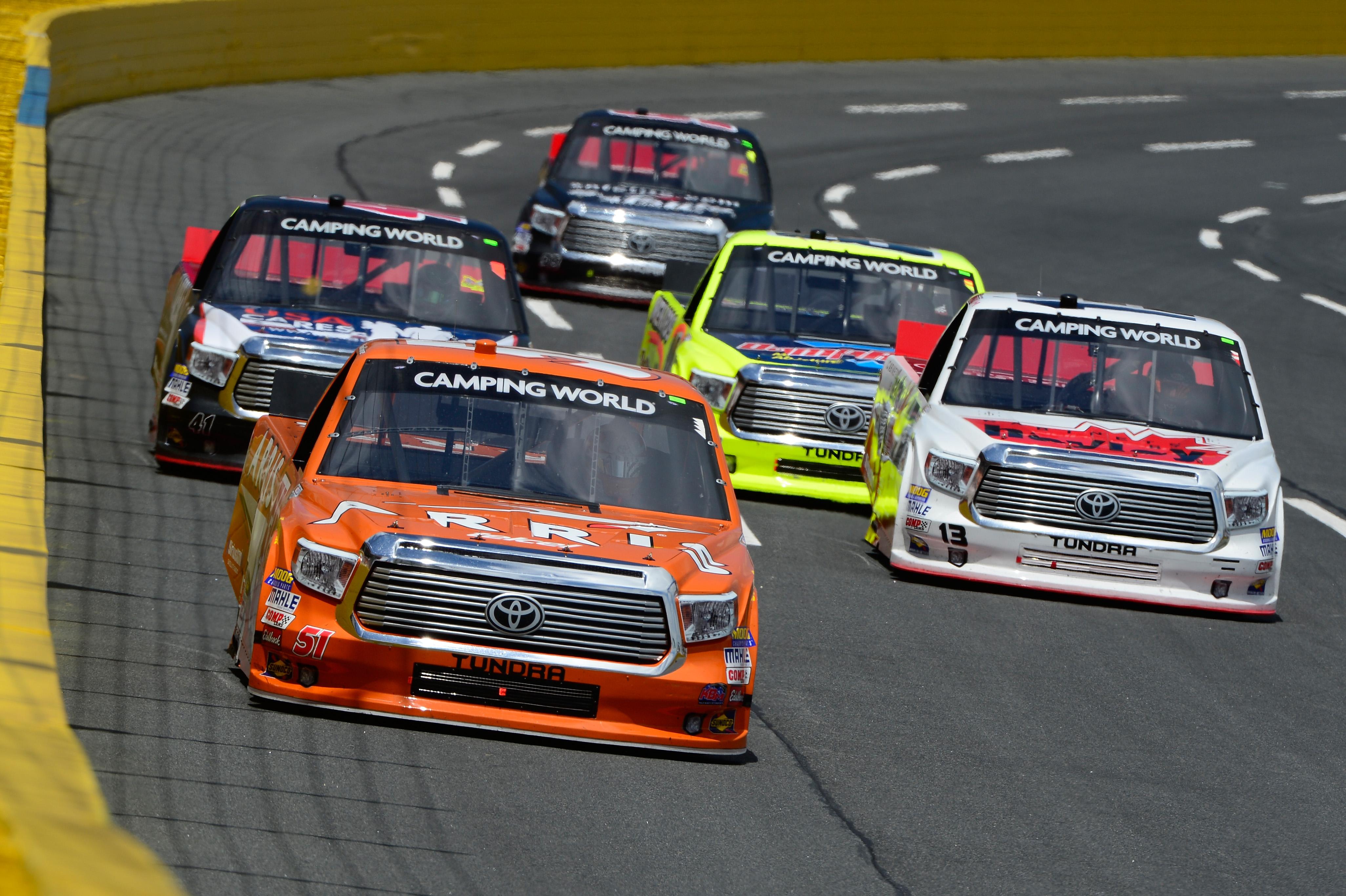 NASCAR Camping World Truck Series North Carolina Education
