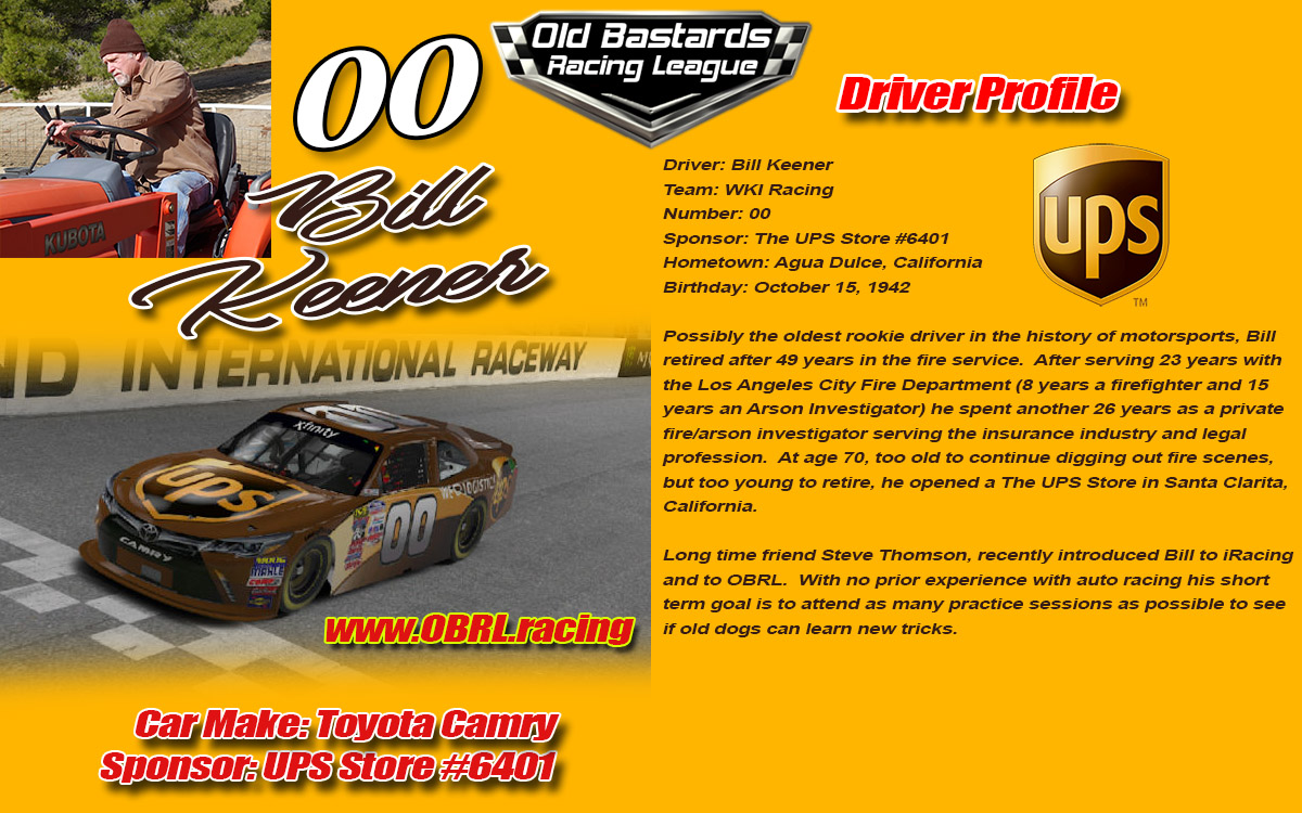 iRacing Car Drivers Profiles - Old Bastards Racing League Profiles