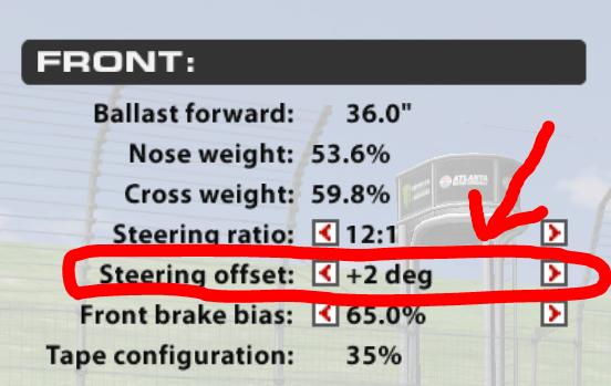 iRacing Open Steering Wheel Setup - iRacing Garage