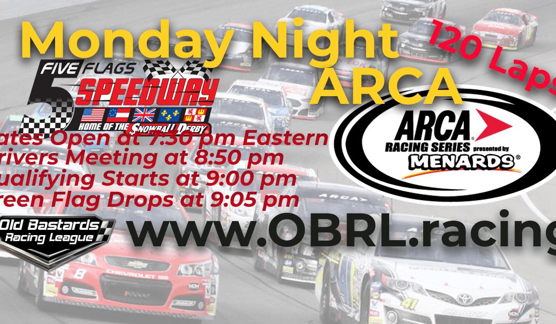 🏁 WINNER: Chris Monroe #15! Week #3 ARCA iRacing National Series Race Five Flags Speedway