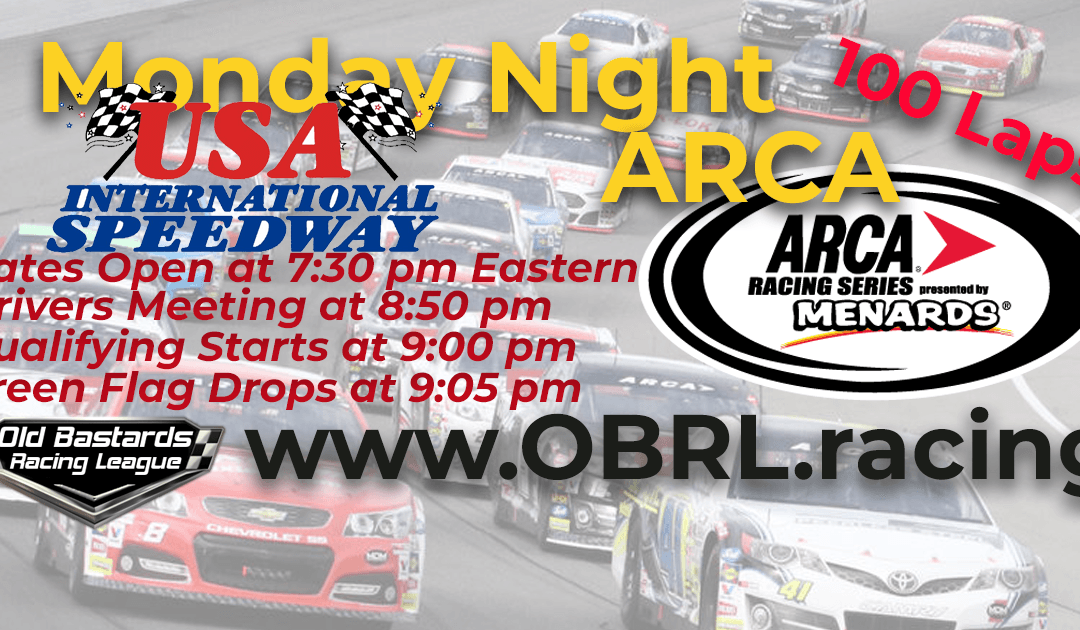 WINNER: Kevin Pearson! Week #4 ARCA iRacing National Series Race USA Int'l Speedway