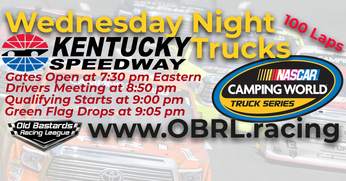 iRacing League Nascar Camping World Truck Race at Kentucky ...