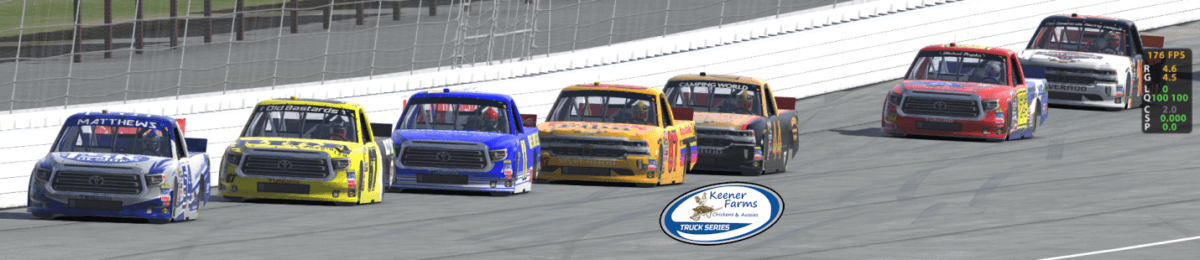 Keener Farms Truck Series Race at Michigan International Speedway. iRAcing TRuck Series