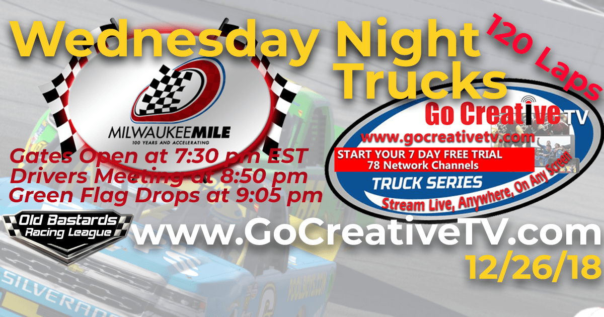 Go Creative TV Truck Series Race at The Milwaukee Mile