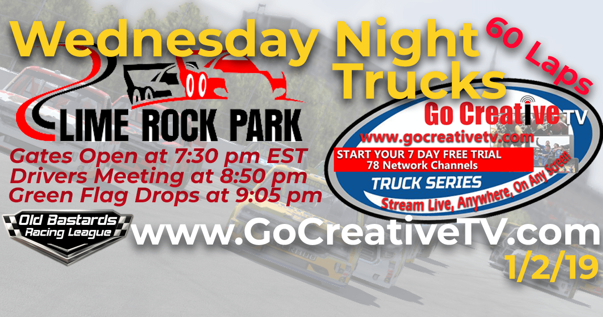Go Creative TV Truck Series Race at Lime Rock Park