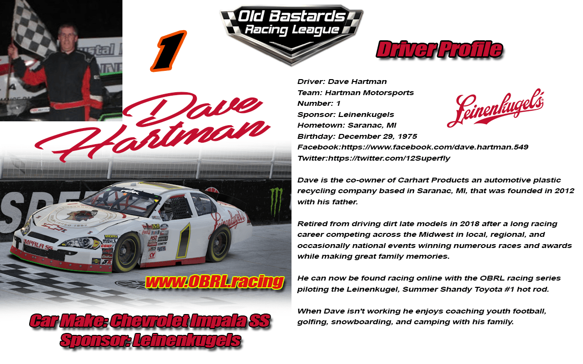 iRacing Car Drivers Profiles - Old Bastards Racing League