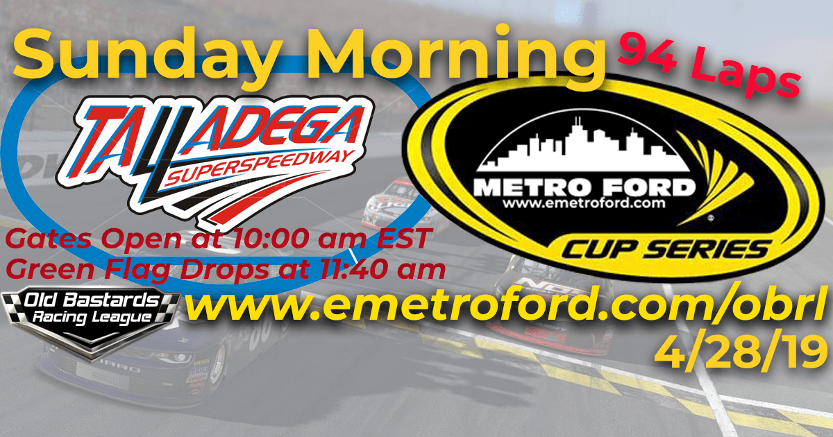 Metro Ford Chicago Cup Race at Talladega Super Speedway