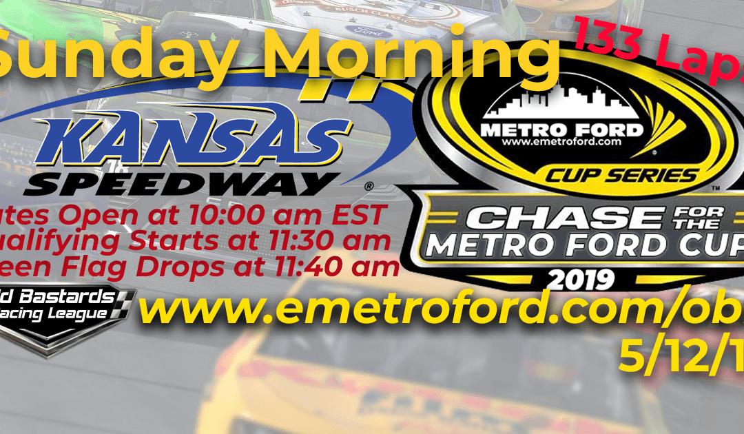 🏁WINNER: Joel Tex Kilburn #40! Week #13 Metro Ford Cup Series Race Kansas Speedway- 5/12/19 Sunday Mornings