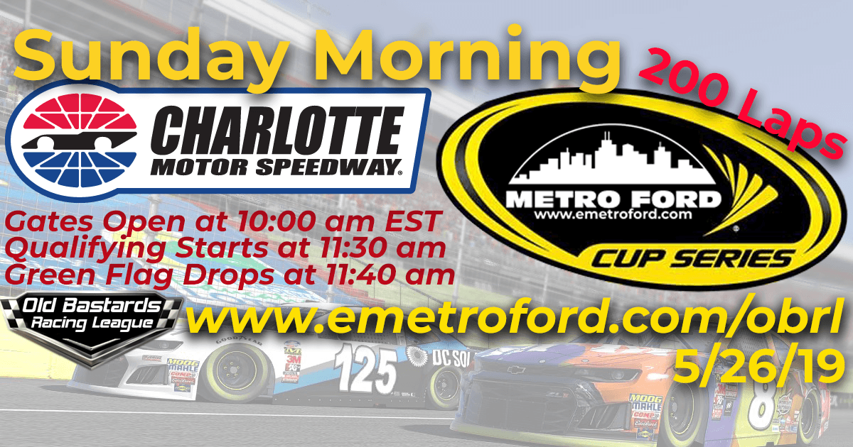 Metro Ford Chicago Cup Race at Charlotte Motor Speedway