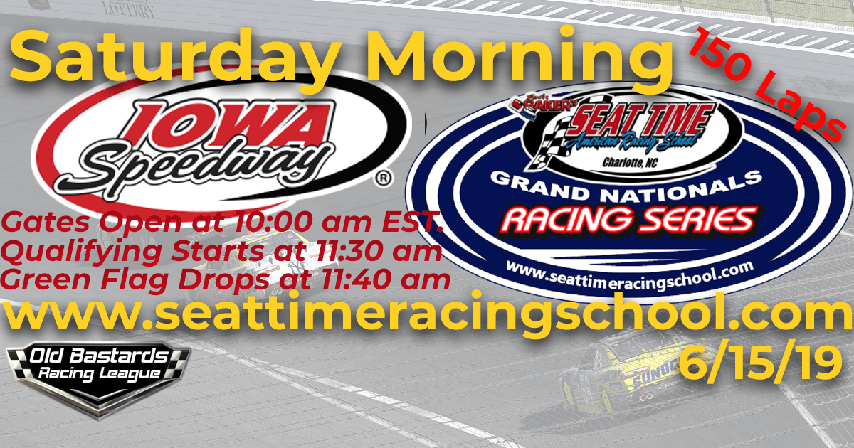 STRS Grand National Series Race at Iowa Speedway