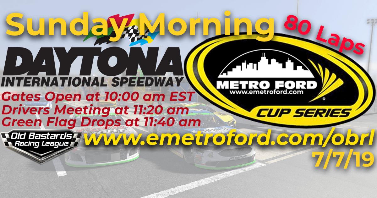 Metro Ford Chicago Cup Race at Daytona International Speedway