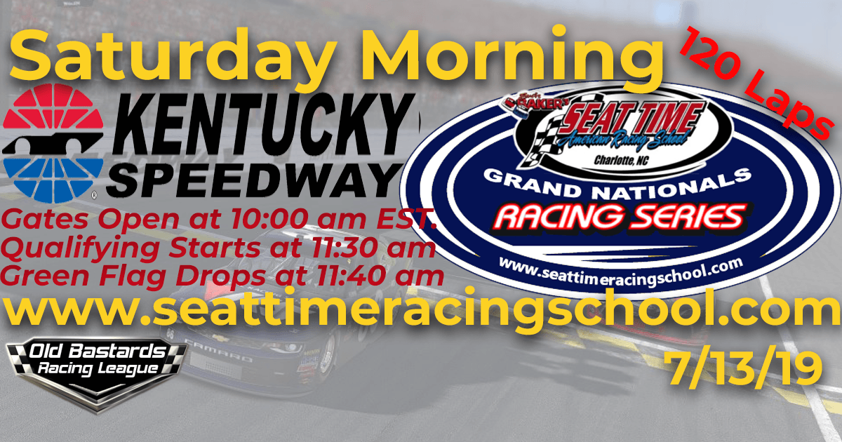 Seat Time Racing Experience School Xfinty Series Kentucky Speedway