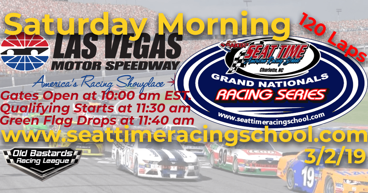 Nascar Stock Car Seat Time Racing Experience School Xfinity Grand Nationals Race Las Vegas Speedway