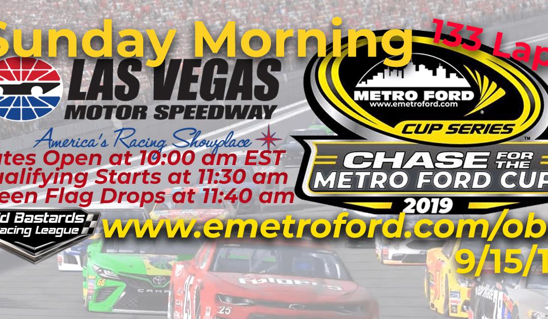 🏁WINNER: Vernon Margheim #94! Week #31 Metro Ford Cup Series Race at Las Vegas Motor Speedway – 9/15/19 Sunday Mornings