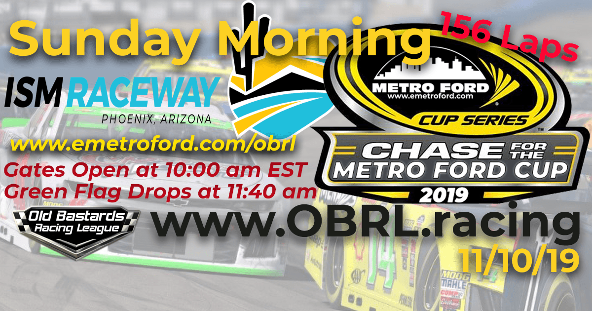Chase for the 2019 Metro Ford Cup Playoff Race at ISM Phoenix Raceway