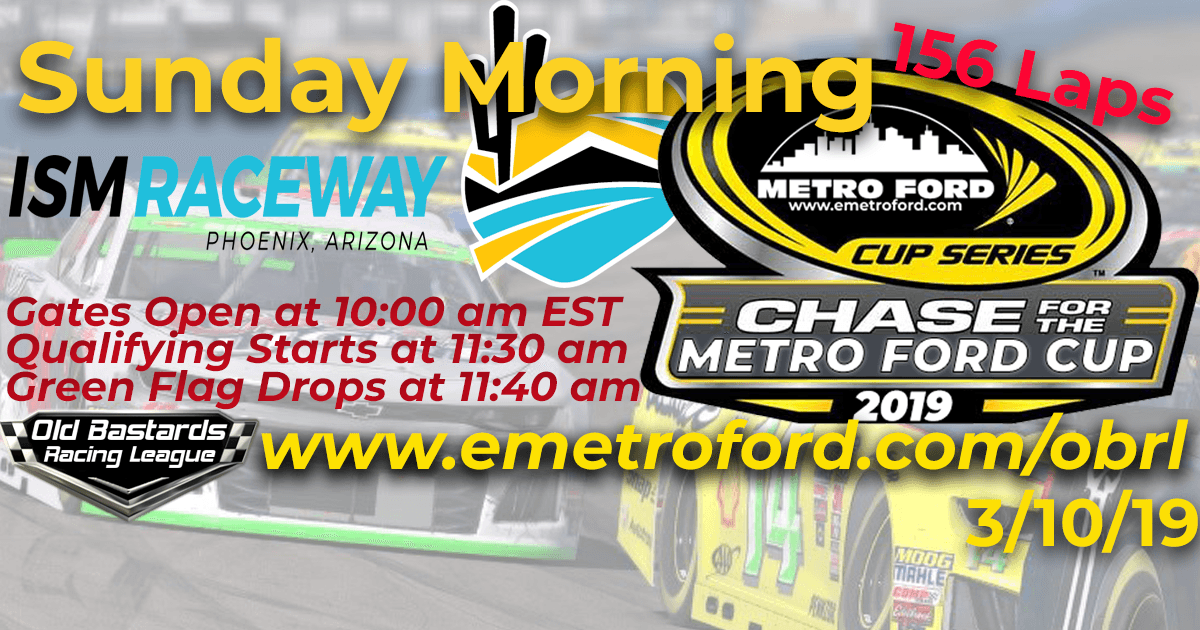 Metro Ford Cup Race at ISM Phoenix Raceway