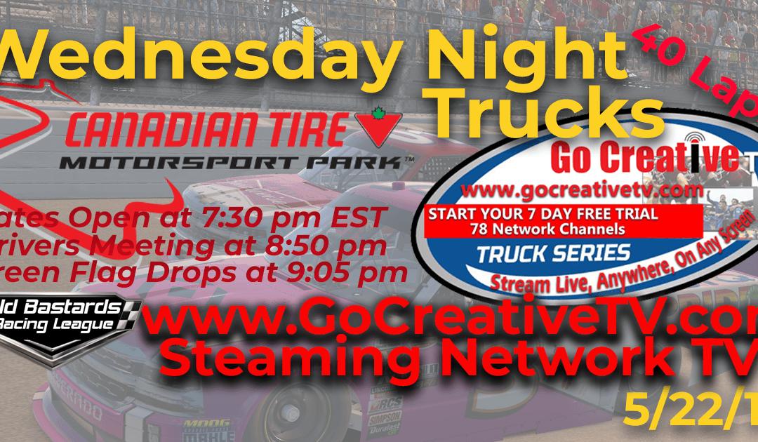 🏁WINNER: Eddie Jones #14! Week #11 Go Creative TV Truck Series Race at Canadian Tire MS Park – 5/22/19 Wednesday Nights