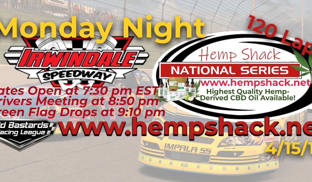 🏁WINNER: Joel Kilburn #40! Week #6 Nascar Hemp Shack National Series Race at Irwindale Speedway – 4/15/19 Monday Nights