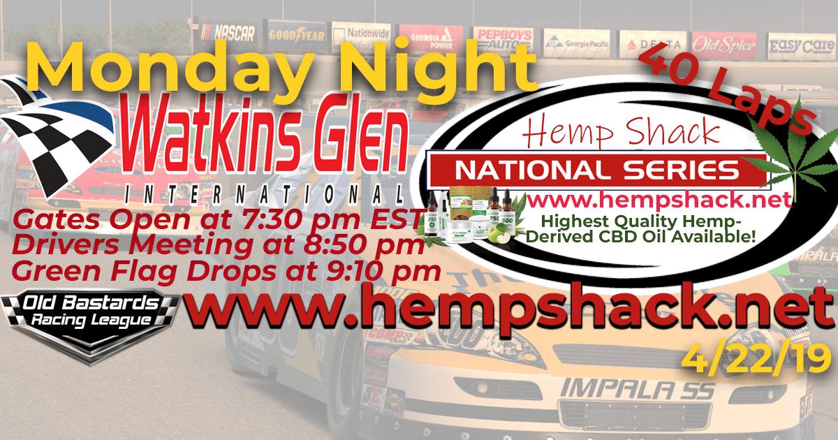 Nascar ARCA Hemp Shack National Series Race at Watkins Glen International. Monday Night Nascar iRacing K&N Pro League - Hemp Shack - Highest Quality Hemp-Derived CBD Oil Available!