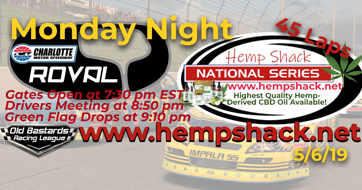 iRacing K&N Pro Hemp Shack National Series Race at Charlotte ROVAL Monday Nights iRacing League