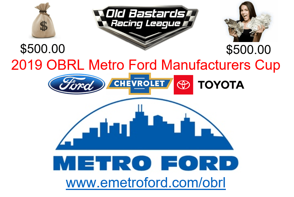 Nascar Metro Ford Chicago Manufactures Cup 2019