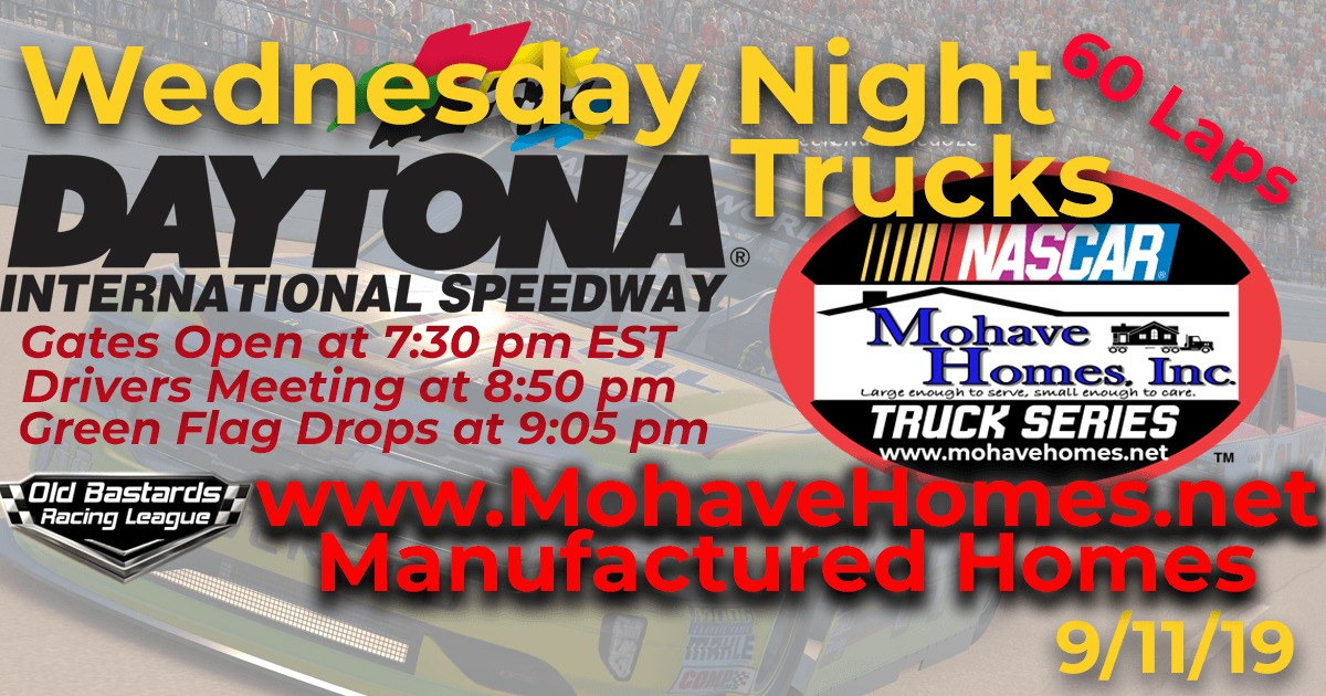 Nascar Mohave Homes Truck Series Race at Daytona Int'l Speedway