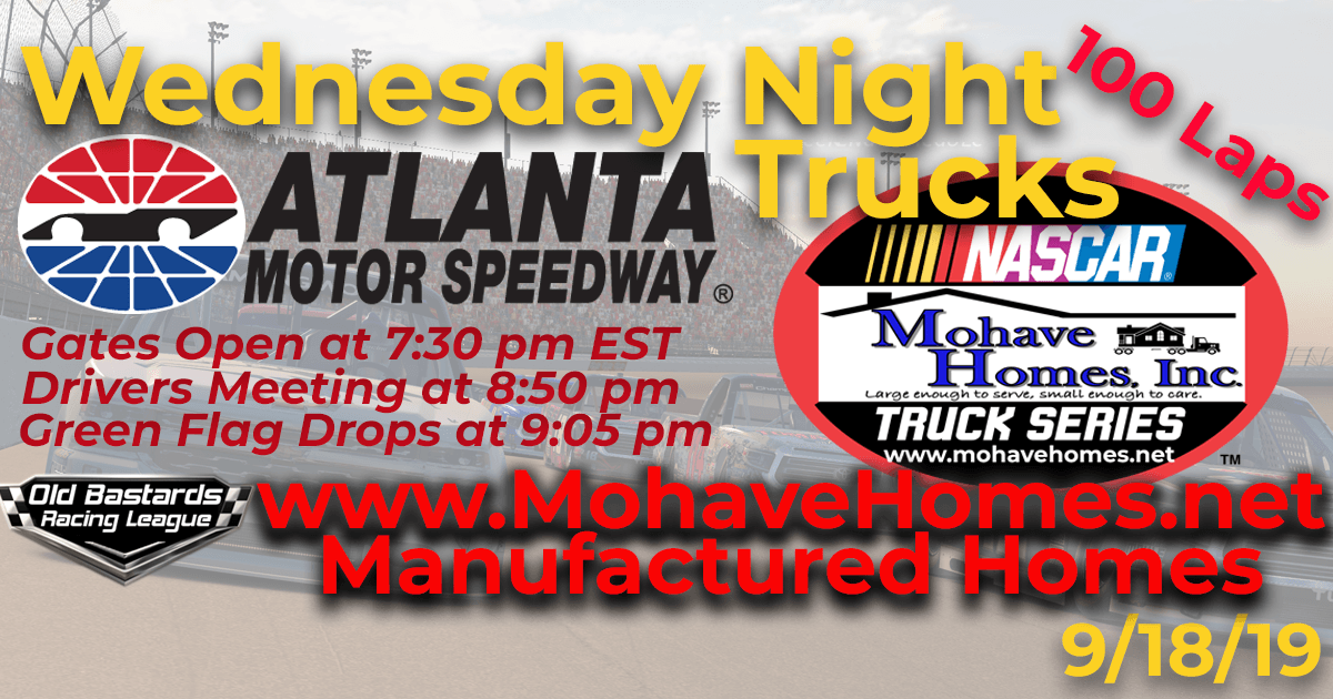 Nascar Mohave Homes Truck Series Race at Atlanta Motor Speedway